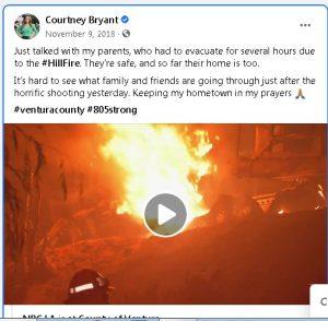 Courtney Bryant parents Facebook post